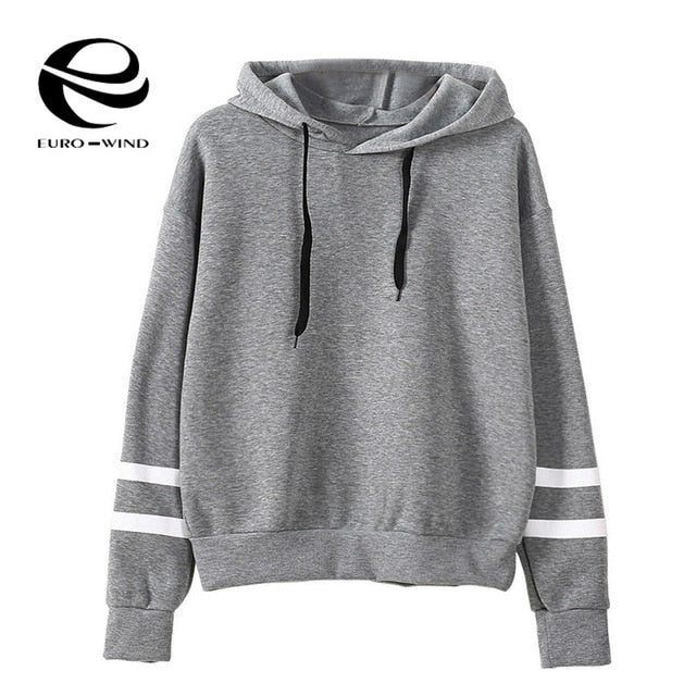 2019 Autumn Winter Women Hoodie Casual Long Sleeve Hooded Pullover Sweatshirts Hooded Female Jumper Women Tracksuits Sportswear