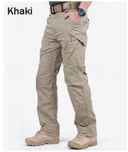 Load image into Gallery viewer, IX9 City Tactical Cargo Pants Men Combat SWAT Army Military Pants Cotton Many Pockets Stretch Flexible Man Casual Trousers XXXL