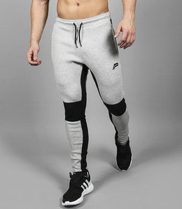 Men Joggers Brand Male Trousers Casual Pants Sweatpants Jogger Dark grey Casual Elastic cotton GYMS Fitness Workout pants
