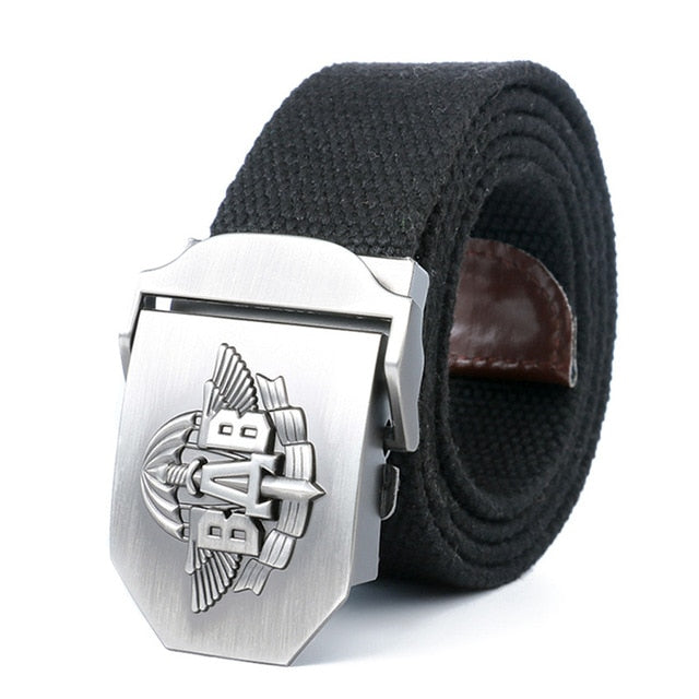 New High Quality Men & Women Military Belt VDV Army Tactical Belt Patriotic Soldiers Canvas Jeans Belt