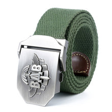 Load image into Gallery viewer, New High Quality Men & Women Military Belt VDV Army Tactical Belt Patriotic Soldiers Canvas Jeans Belt