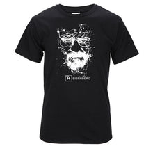 Load image into Gallery viewer, Top Quality Cotton heisenberg funny men t shirt casual short sleeve breaking bad print mens T-shirt Fashion cool T shirt for men