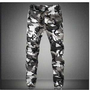 Camouflage Military Jogger Pants Men 2019 Pure Cotton Mens Spring Autumn Pencil Harem Pant Men Comfortable Trousers Camo Joggers