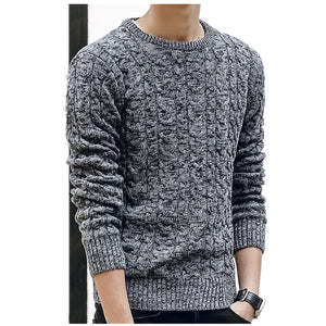 New Mens Sweaters 2019 New Fahsion O Neck Winter Sweater Men Pullover Long Sleeve Casual Men Jumper Sweater Fashion Clothes