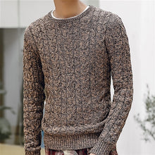 Load image into Gallery viewer, New Mens Sweaters 2019 New Fahsion O Neck Winter Sweater Men Pullover Long Sleeve Casual Men Jumper Sweater Fashion Clothes