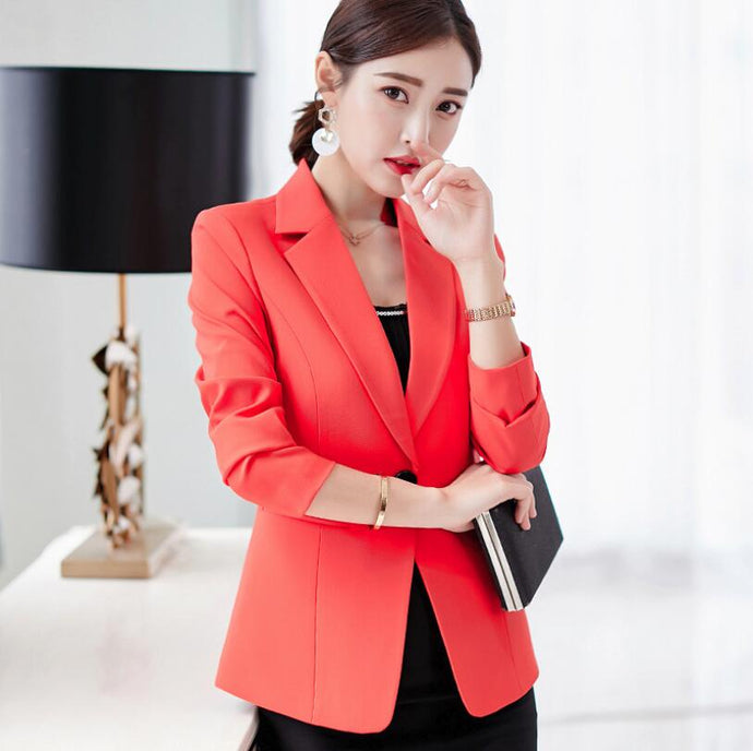 2018 Fashion Women's Clothing Blazer Suits Blazers three colors for choose