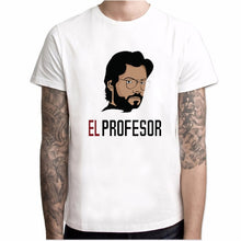 Load image into Gallery viewer, T shirt men Funny Design La Casa De Papel T Shirt Money Heist Tees TV Series Tshirts Men Short Sleeve House of Paper T-Shirt