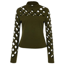 Load image into Gallery viewer, Blouse Women Clothes 2019 Womens Tops And Blouses Vintage Hollow Out Long Sleeve Ladies Tops Streetwear Tunic Fashion Clothing