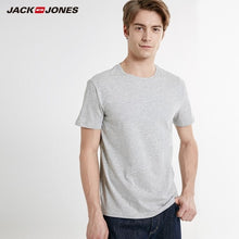 Load image into Gallery viewer, JackJones Men's T-shirt Elastic Cotton Top T shirt Knitted Leisure Wear for menswear 219191502