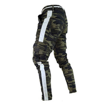 Load image into Gallery viewer, well Military Work Cargo Camo Combat Plus Size Pant Side Stripe Hip Pop Style Streetwear Men Trousers Casual Camouflage streetw