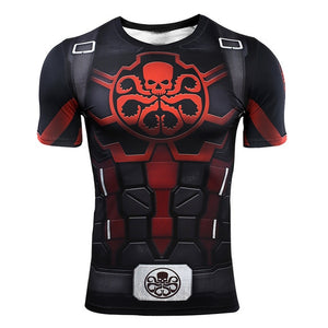 VIP FASHION Avengers Endgame Quantum War 3D Printed Men Women Compression Shirt Cosplay Costume Long Sleeve Gym Fitness Tops