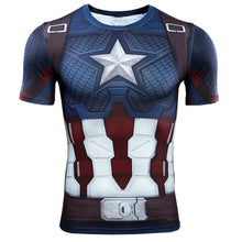 Load image into Gallery viewer, VIP FASHION Avengers Endgame Quantum War 3D Printed Men Women Compression Shirt Cosplay Costume Long Sleeve Gym Fitness Tops
