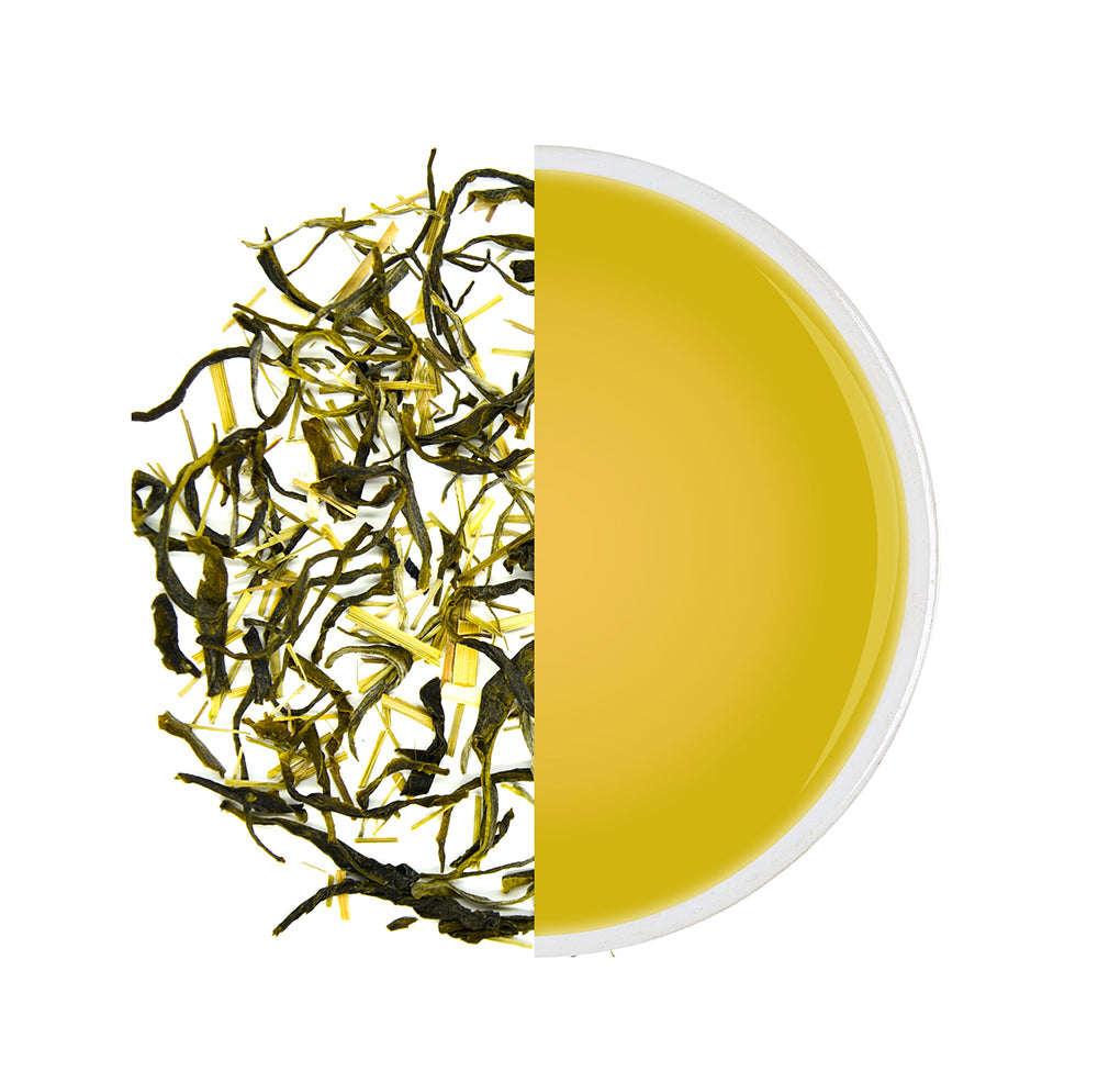 Exotic Organic Lemongrass Green Tea