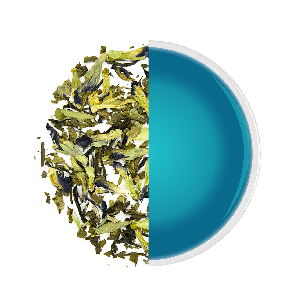 Load image into Gallery viewer, Organic Blue Mint Tea