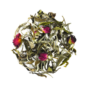 Load image into Gallery viewer, Organic Rose Mist White Tea