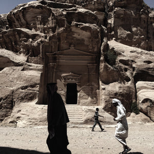 Petra - People Crossing