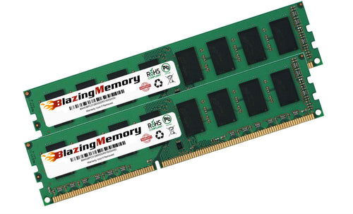 8GB Kit 2 x 4GB DDR3 1600 PC3-12800 DIMM LOW DENSITY DESKTOP MEMORY