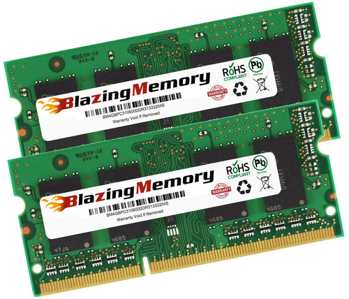 8GB KIT 2 x 4GB DDR3 1333 PC3-10600 SODIMM LOW DENSITY LAPTOP MEMORY