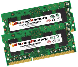 8GB KIT 2 x 4GB DDR3 1600 PC3-12800 SODIMM LOW DENSITY LAPTOP MEMORY