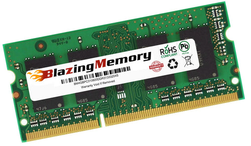 4GB DDR3 1333 PC3-10600 SODIMM LOW DENSITY LAPTOP MEMORY