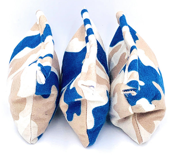 LUNCH BOX WARMERS, 3-pack blue camo