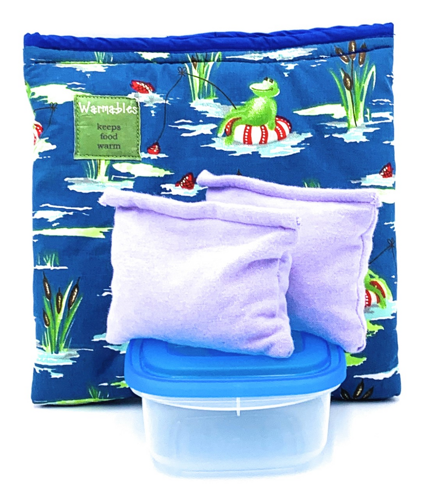 Complete Children's Lunch Box Kits, gone fishing