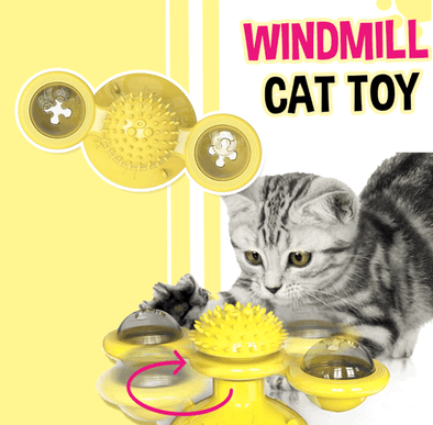 Windmill Interactive Cat Toy