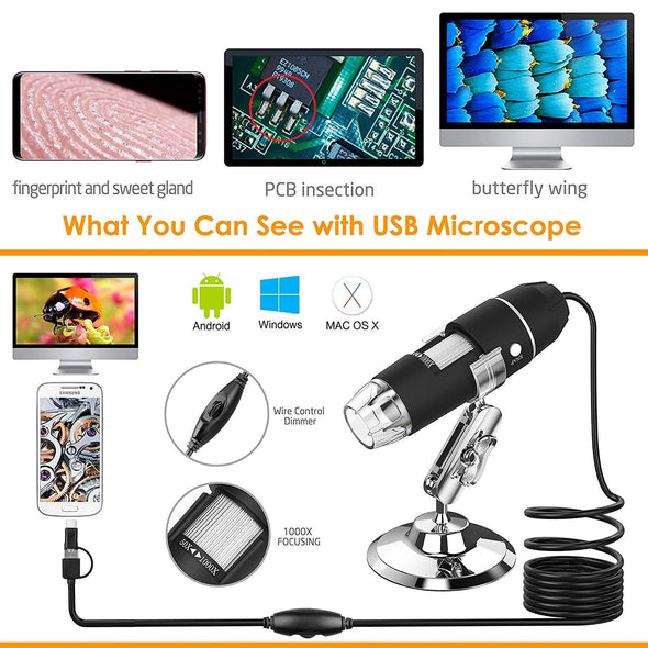 Micro-Zoom: Microscope Camera