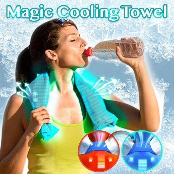 Ice Cooling Towel for Fitness