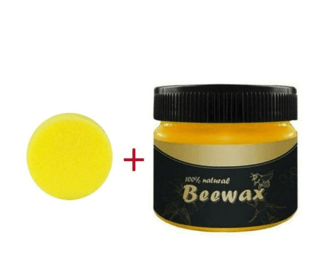 Natural Beeswax Wood Seasoning Polish Used To Restore Wooden Furniture