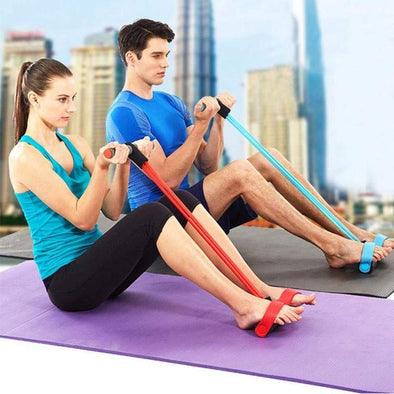 Yoga Resistance Band, Elastic Sit Up Rope (Buy 2 Get Free Shipping)