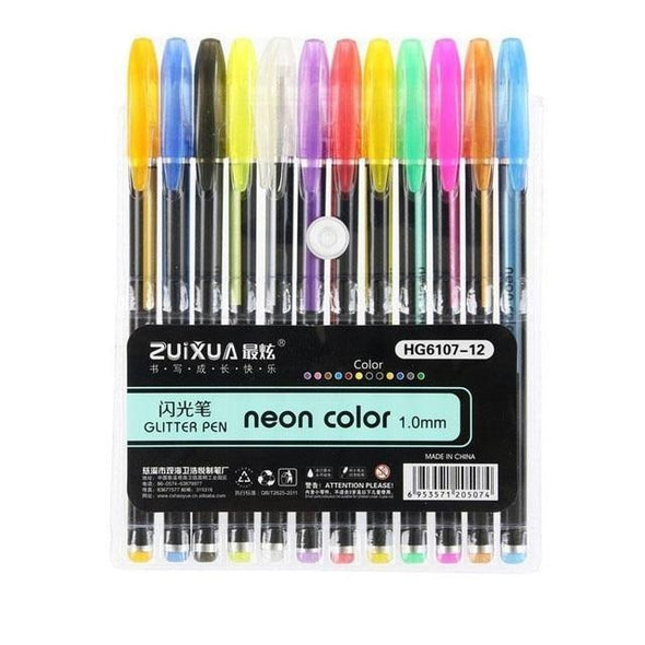 Vibrant Gel Pen Pack (50% Limited Time Offer)