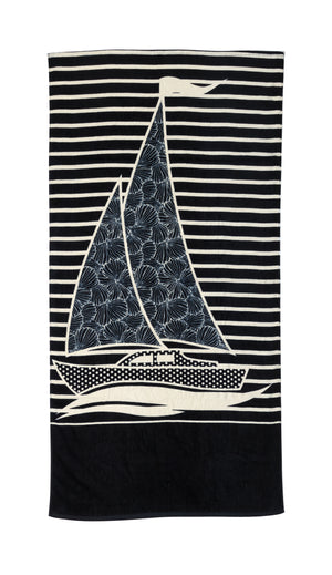 Beach Towel - Set Sail