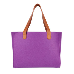Casual Tote - Amethyst