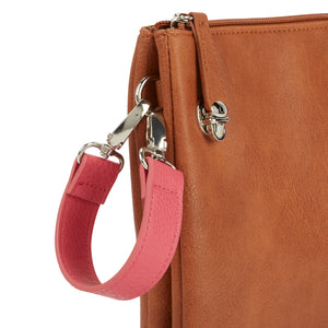 Wide Wristlet Strap - Berry