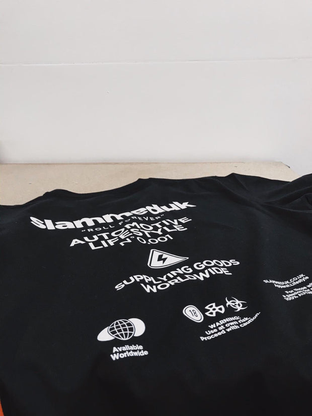 Worldwide T-Shirt Black
