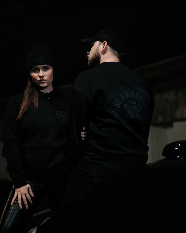 BLACKOUT Garage Crew Neck Jumper