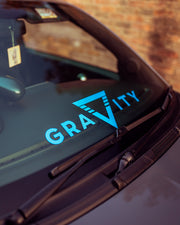 Gravity Windscreen Banner