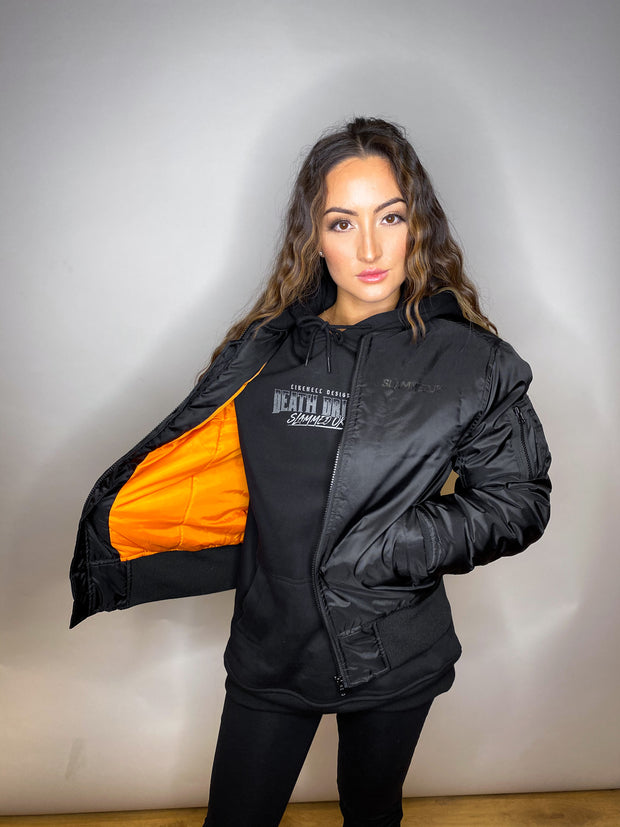 BLACKOUT Garage Bomber Jacket