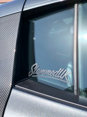 SlammedUK Small Sticker