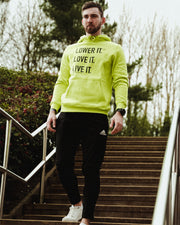 Frozen Yellow Lower it. Hoodie