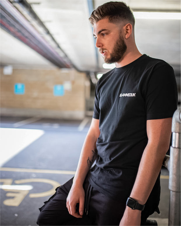 SlammedUK Garage T-Shirt - Black