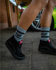 GRVTY Tube Socks - Grey
