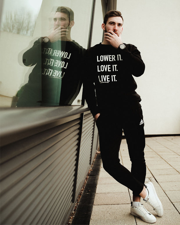 Lower it. Crew Neck Jumper