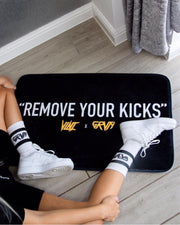 """Remove Your Kicks"" Sneaker Mat"