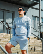 Pastel Blue GRVTY Shorts