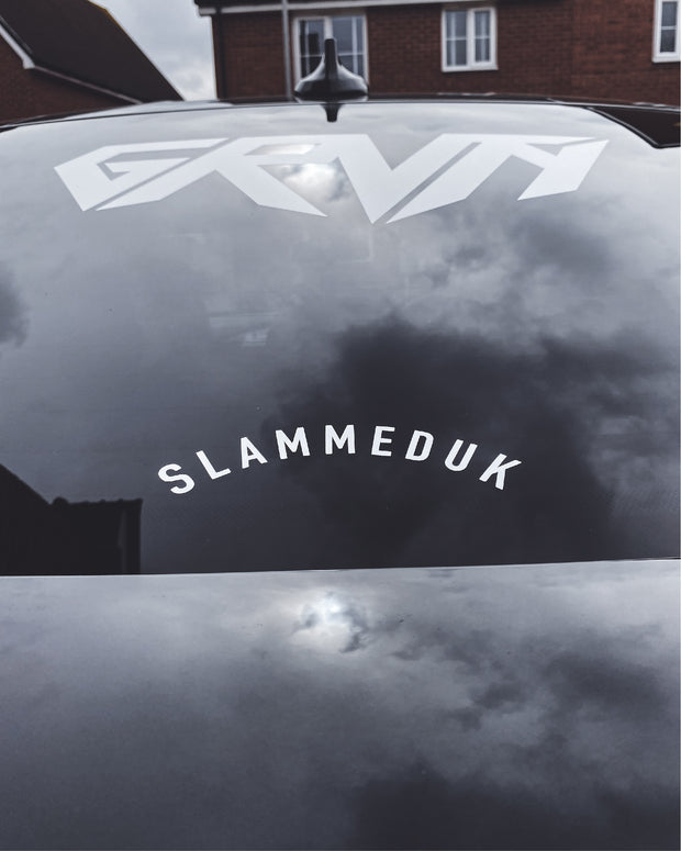 SlammedUK Arch Small Sticker