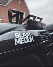 SlammedUK Block Small Sticker