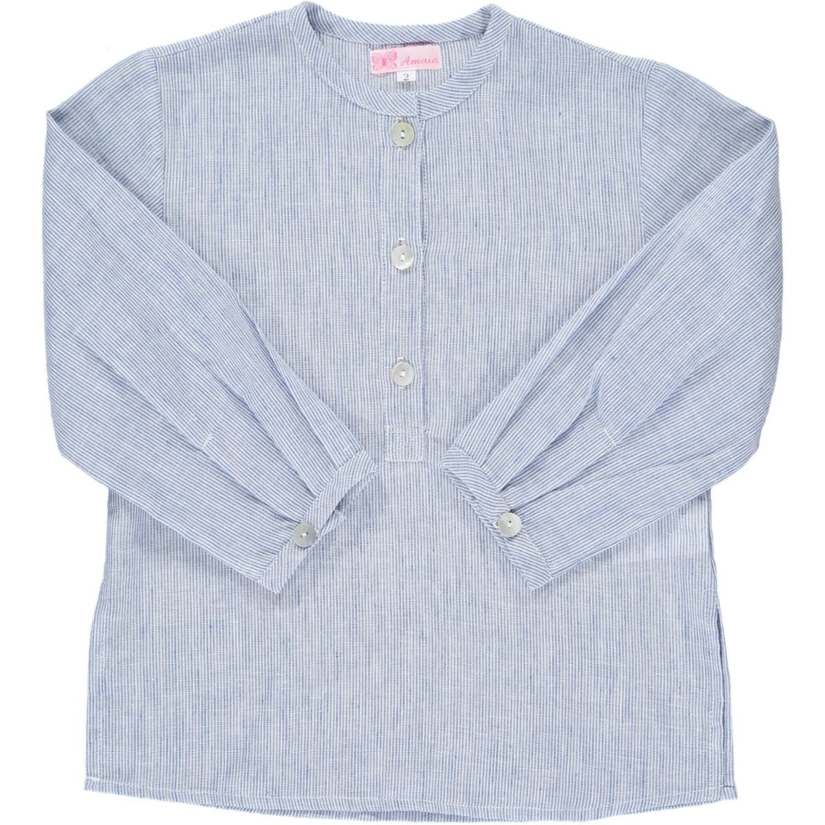 Victor Shirt Blue Stripe
