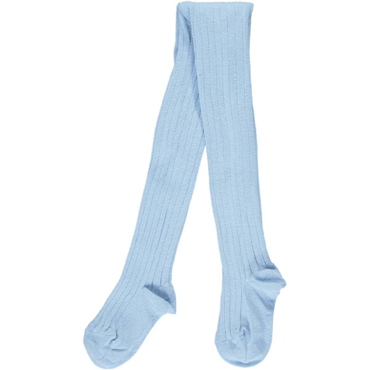 RIBBED TIGHTS - BABY BLUE